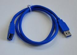 Кабель ATcom удлинитель USB 3.0 AM/AF 1.8m Blue