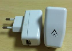 Зарядное устройство USB charger 220V QRX-L011 5-5.5V  2.1A купить по низкой цене