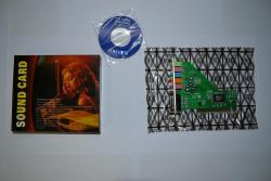 Совместимость - Windows Xp, Vista, Windows 7. Звуковая карта PCI, коробка.
