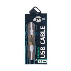 купить оптом Кабель AM USB 2.0 / Type-C 1.8м., GOLD plated, блістер