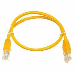 Патч-корд UTP, RJ45, Cat.6, мідь, довжина 3м, жовтий, 1 ГБ/с атком